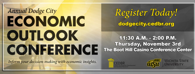 The Annual Dodge City Economic Outlook Conference - November 3rd, 2016!