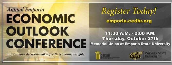 The Annual Emporia Economic Outlook Conference - October 27th, 2016!