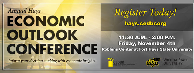 The Annual Hays Economic Outlook Conference - November 4th, 2016!