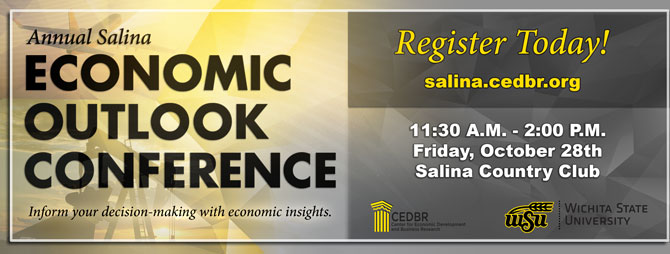 The Annual Salina Economic Outlook Conference - October 28th, 2016!