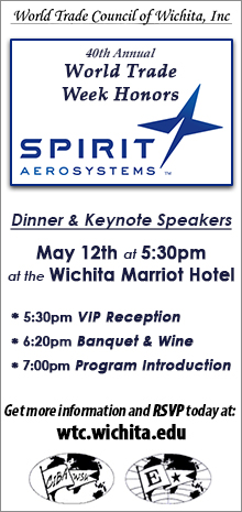 40th Annual World Trade Week Honors Spirit Aerosystems!