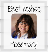 Wishing the Best to Long-Time  Staff Member, Rosemary Hedrick