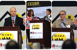 Chris Broberg, Sue Abdninnour, Jay Price, Bob Litan, Speakers at Wichita Industry Research Exchange